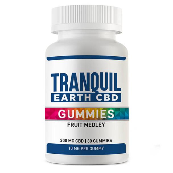 Tranquil Earth CBD - CBD Edible - Fruit Medley Gummies - 10mg