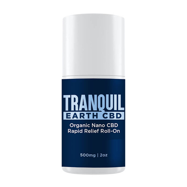 Tranquil Earth CBD - CBD Topical - Rapid Relief Nano Roll-on - 500mg