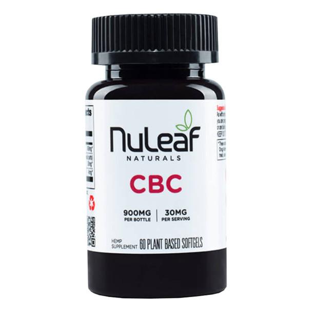 NuLeaf Naturals - CBD Softgels - CBC Caps - 300mg-1800mg