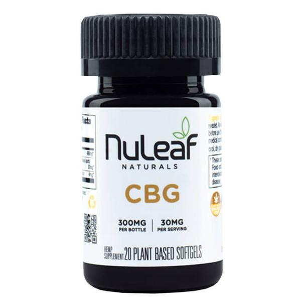 NuLeaf Naturals - CBD Softgels - CBG Caps - 300mg-1800mg