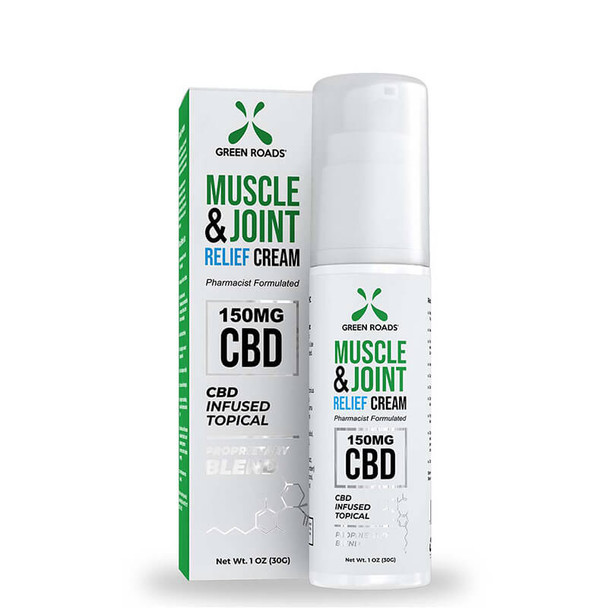 Green Roads - CBD Topical - Muscle & Joint Relief Cream - 150mg