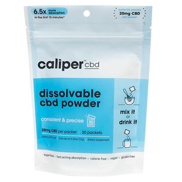 Caliper CBD - CBD Drink Mix - Unflavored Dissolvable Powder - 20mg
