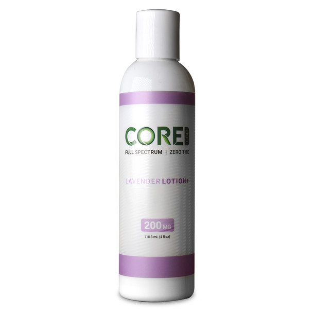 Core CBD - CBD Topical - Lavender Body Lotion - 200mg