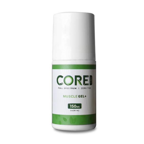 Core CBD - CBD Topical - Muscle Gel - 150mg