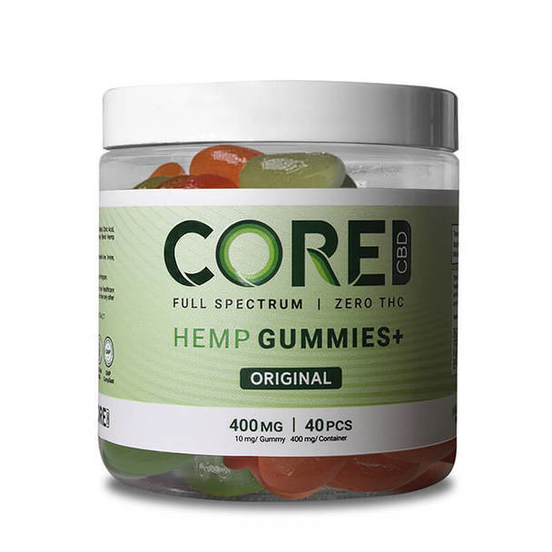 Core CBD - CBD Edible - Gummie - 400mg