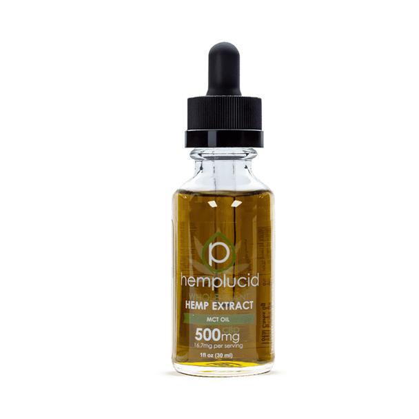 Hemplucid - CBD Tincture Oil - MCT - 250mg-2000mg
