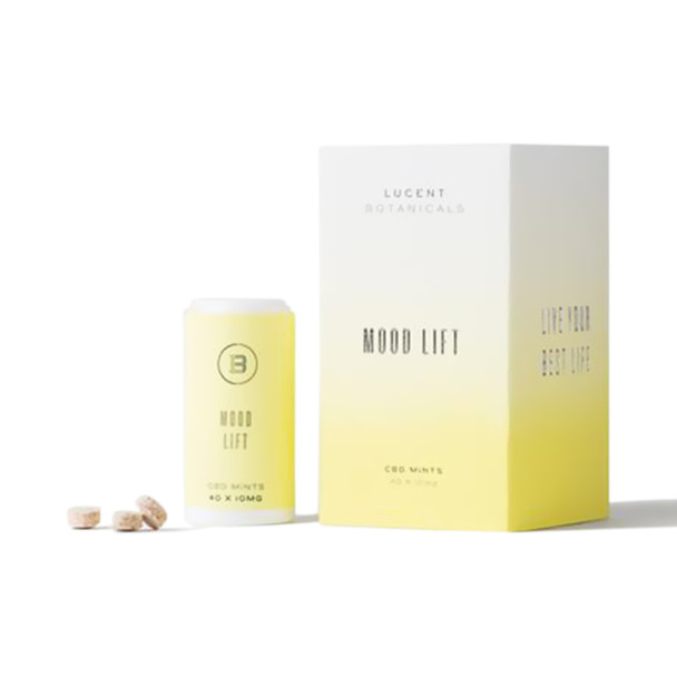 Lucent Botanicals - CBD Edible - Mood Lift Mints - 10mg