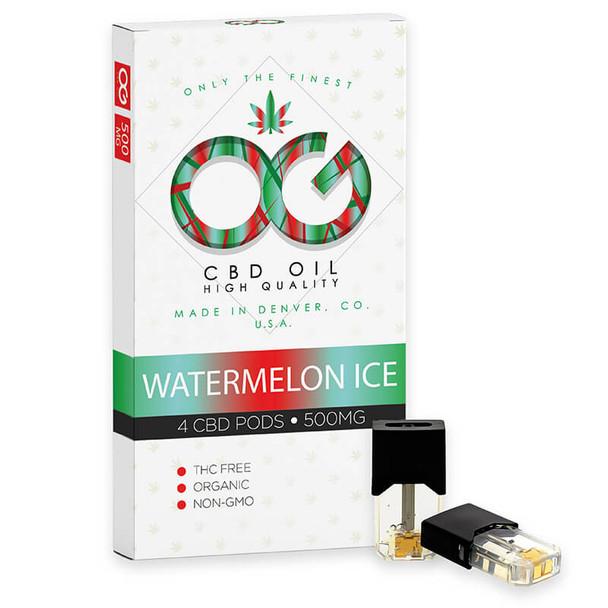 Watermelon Ice - CBD Pod by OG Labs