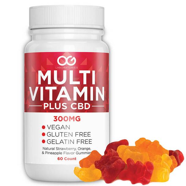 Multi Vitamin - 300mg CBD Vitamin Gummies by OG Labs