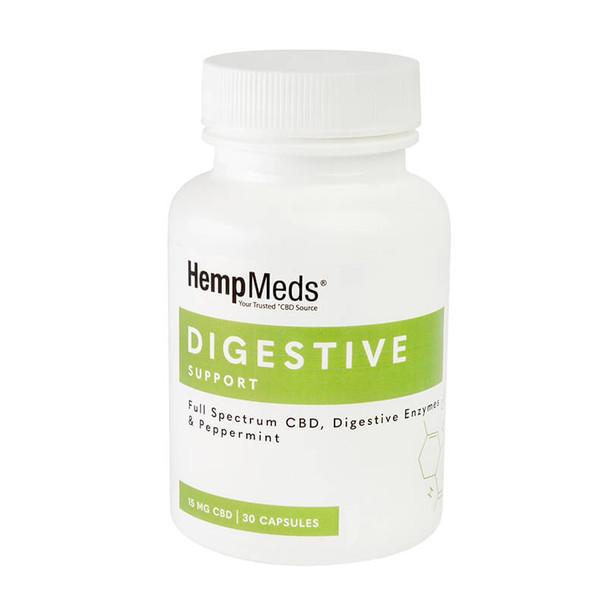 HempMeds - CBD Capsules - Everyday Wellness Digestive Support - 15mg