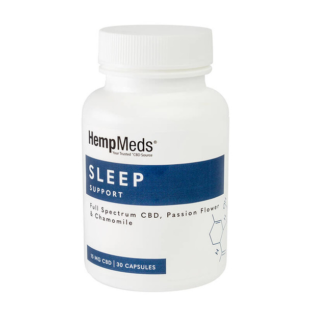 Sleep Support - CBD Capsules - 15mg by Everyday Wellness