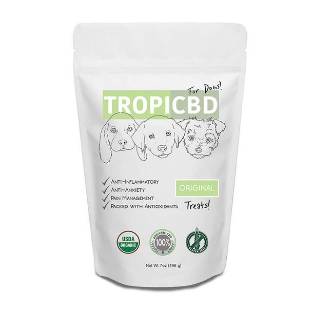 TropiCBD - CBD Pet Edible - Original Dog Treats - 4mg