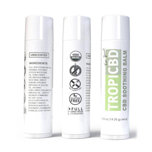 TropiCBD - CBD Pet Topical - Soothing Balm - 10mg