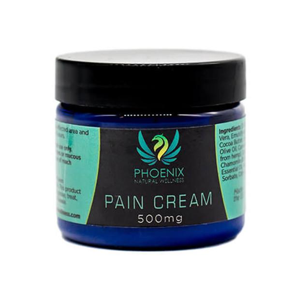 Phoenix Natural Wellness - CBD Topical - Pain Cream - 500mg-1000mg