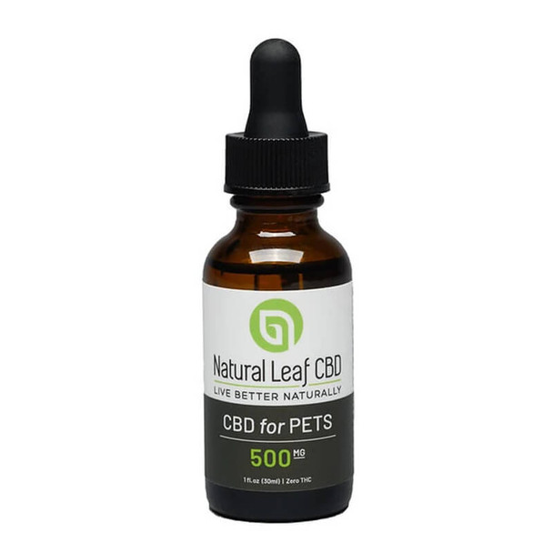 Natural Leaf CBD - CBD Pet Tincture - 500mg