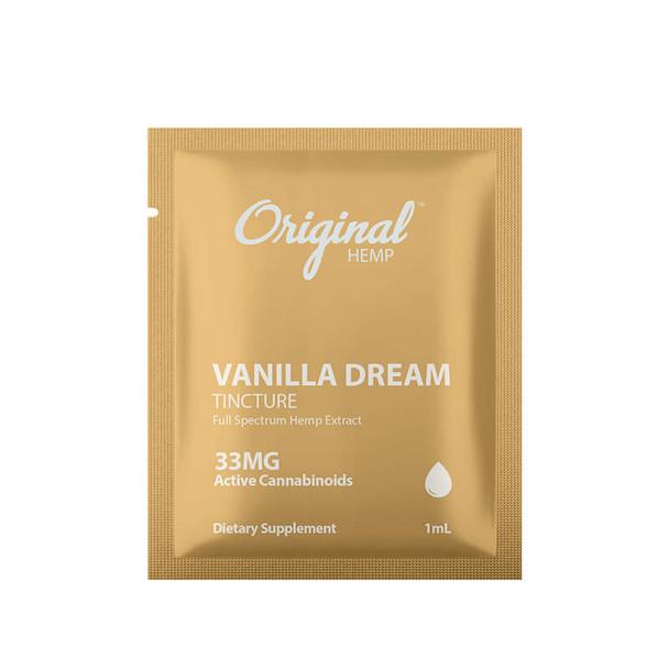 Original Hemp - CBD Tincture - Vanilla Dream 2 Packs - 33mg