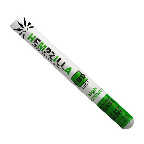 Hempzilla - CBD Drink - CBD Infused Drink Shot