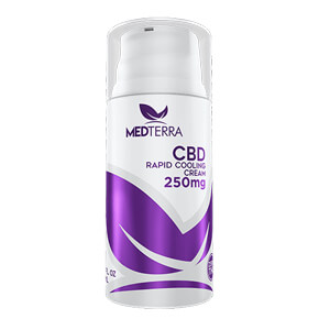 CBD Rapid Cooling Cream - 250mg by Medterra