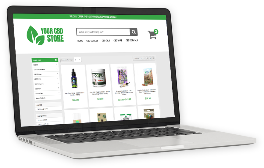 Your Powered By Store from CBD.co