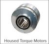 Housed Torque Motors, CM and MegaFLUX Series