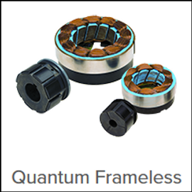 Quantum™ Frameless Brushless Servo Motors,