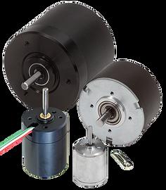 KinetiMax™ Brushless DC Motors, Outer rotor design
