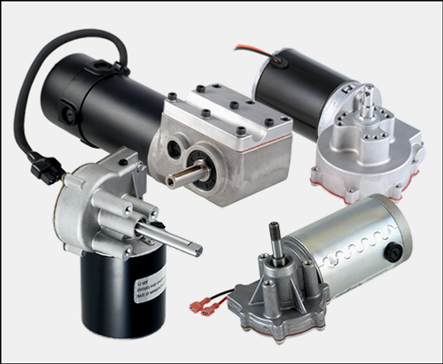 Right-Angle Shaft Gear Motors, fractional HP