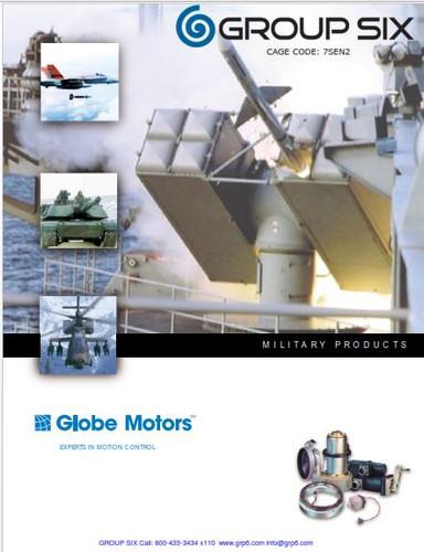 GLOBE MOTOR MIL SPEC Motors, gears