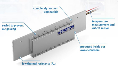 Tecnotion Vacuum Series Linear Motors