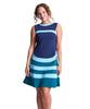 Shirin African Stripe Dress