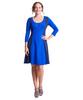 Shirin Panel Scoop Neck Dress