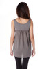 Sleevless Cotton Shirred Top