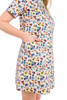 Shift Anemone Swatch.jpg Print Dress