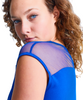 Shirin Mesh Shoulder Cap Sleeve Top