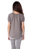 Short Sleeve Cotton Henley Top
