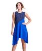 Shirin Two Toned A line Dress