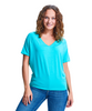 Drop Shoulder Short Sleeve Relaxed-Fit Top