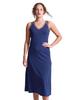 Shirin Mesh V-neck Maxi A-Line Dress