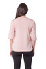 Elbow Sleeve Puffy Shoulder Blouse