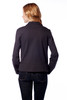 Fitted Jacket with Asymmetric Zipper