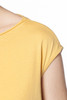 Relaxed Cap Sleeve Boat Neck Top