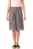 Printed Wrinkled Lightweight Cotton Skirt
