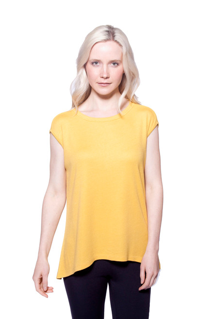 Style MW-15  This cap sleeve top is made with our high-quality thermal modal fabric. Features a simple crew-neckline and relaxed fit. Machine washable, hang dry for best results. 95% thermal modal, 5% elastane. Sleeveless tee, AtoZ A to Z, tank