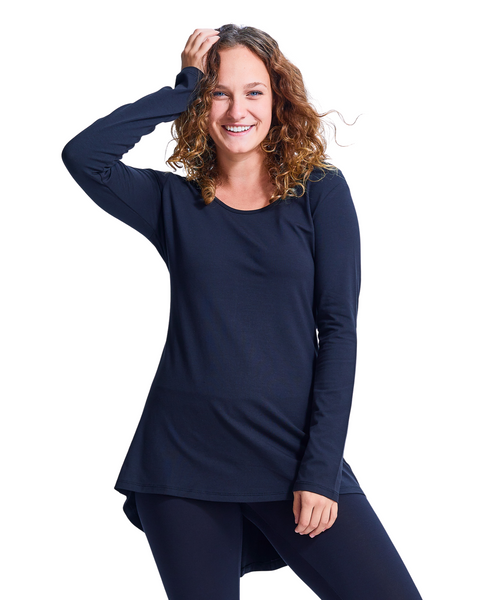 Shirin Zip Back Top with Trunk