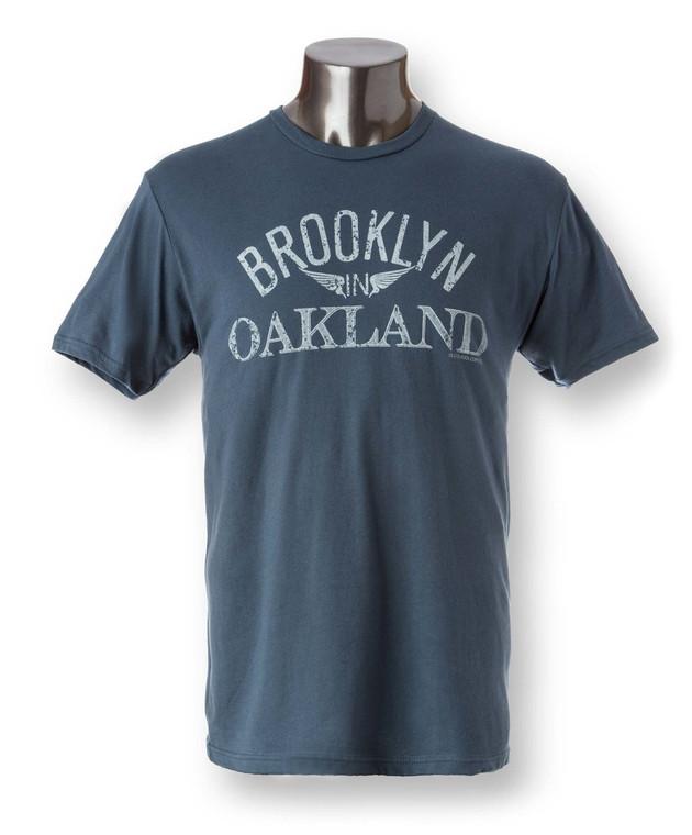 Brooklyn in Oakland Mens Crew Neck Tee