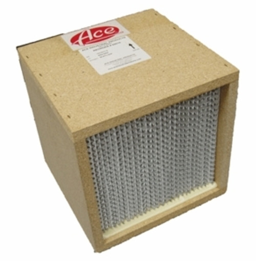ACE INDUSTRIAL 65010  WELDSENSE MAIN FILTER FOR PORTABLE, HEPA EFFICIENCY, 12X12X11.5 INCHES