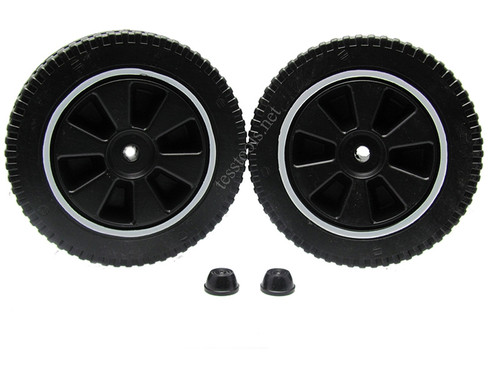 ASSOCIATED 605672 WHEEL KIT 6009
