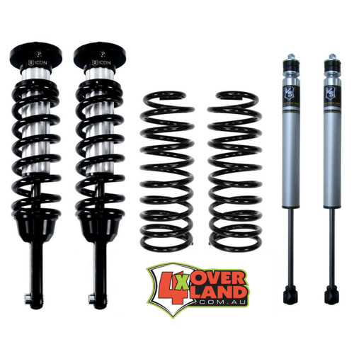SK70201SLT  Toyota 200 Series on Icon Suspension Aus Spec Kit Stage 1 Intermediate Slinky long travel 75mm lift