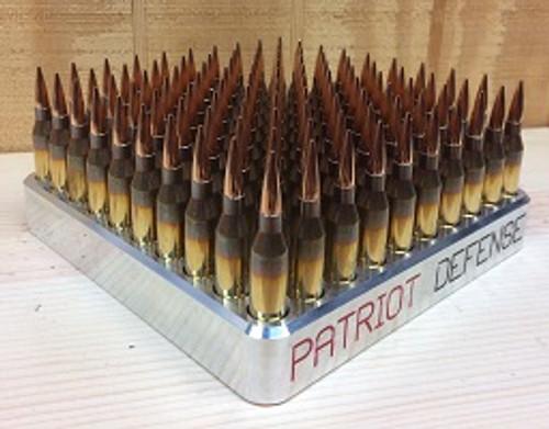 338 Lapua Magnum – 100 round Aluminum Reloading Blocks