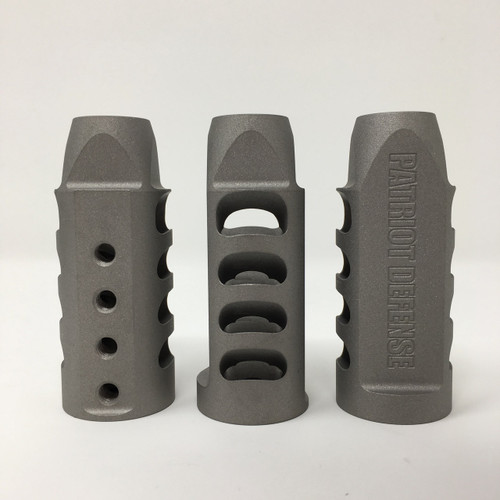 Patriot Defense | .30 CAL Tunable Muzzle Brake 6AL-4V Ti